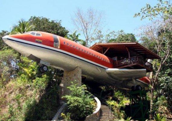 Хотел-самолет! Страхотно (снимки)