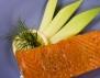 Сьомга на грил с лимони