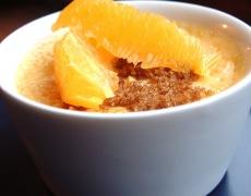 Екзотичен десерт с манго и маракуя