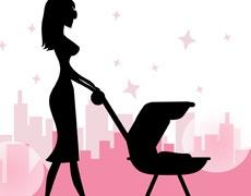Работещите майки се депресират по-рядко