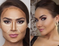 Как и с какво да контурираме лицето си?