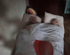 Единствените жители в едно призрачно чернобилско село