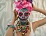 Секси грим на скелет за Хелоуин