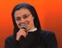 Монахиня разби Гласът на Италия (видео)