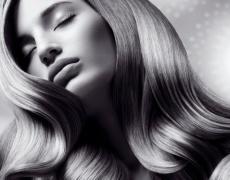 Маска за блестяща коса