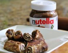 Бързо, лесно и вкусно: Пържени шоколадови рулца