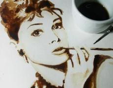 Невероятни рисунки от...кафе!
