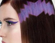 Модерно: Цветни пиксели в косите