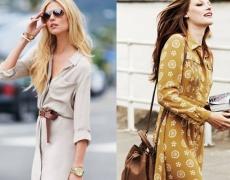 Как да носим ризата рокля