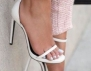 Как да носим сандали на висок ток