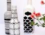 Изящни вази от стари бутилки