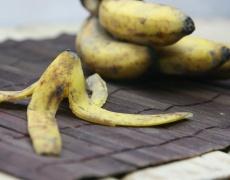 Яжте кори от банани! Полезни са