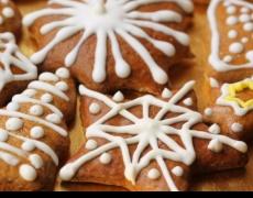 Коледни медени сладки