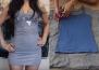 Как да превърнете старата тениска в рокля
