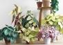 Страхотни идеи за цветя от хартия!