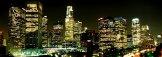 Красотата на нощен Лос Анджелис, заснета от дрон