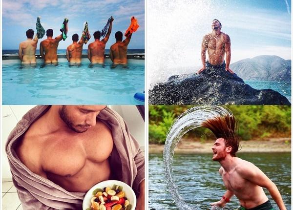 Мъжете позират като горещи момичета в Instagram