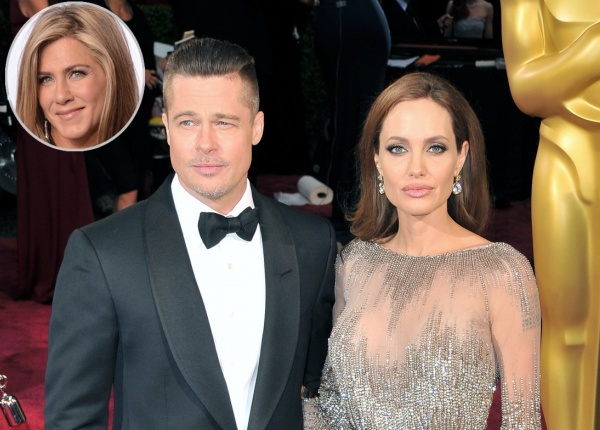 Дженифър Анистън смята, че раздялата на Джоли и Пит е карма