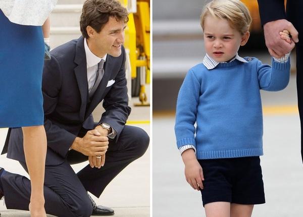 """Принц Джордж няма време за """"гепитата"""" на Джъстин Трюдо"""