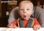 Най-смешната реакция на бебе при вида на храна