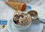 Домашен сладолед с шоколад и бисквити
