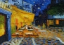 Тинейджърка пресъздава картина на Ван Гог на крака си