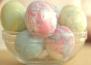 Как да украсим пъстри, мраморни яйца за Великден