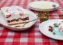 Лесна сладоледена торта с ягоди