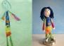 Креативна майка превръща детски рисунки в плюшени играчки