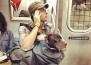 Ето как се возят кучетата в метрото в Ню Йорк