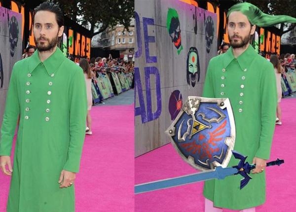 Джаред Лето предизвика фотошоп маниаците със зеленото си палто
