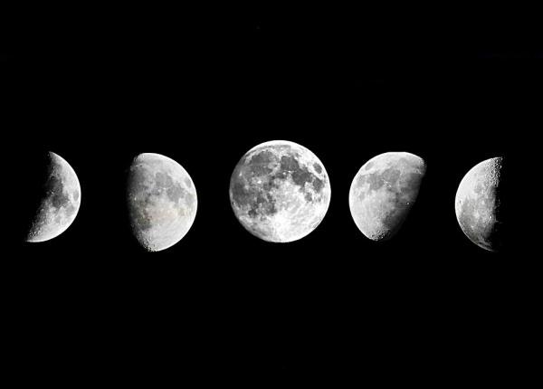 Лунната фаза в деня, в който сте се родили има скрит смисъл