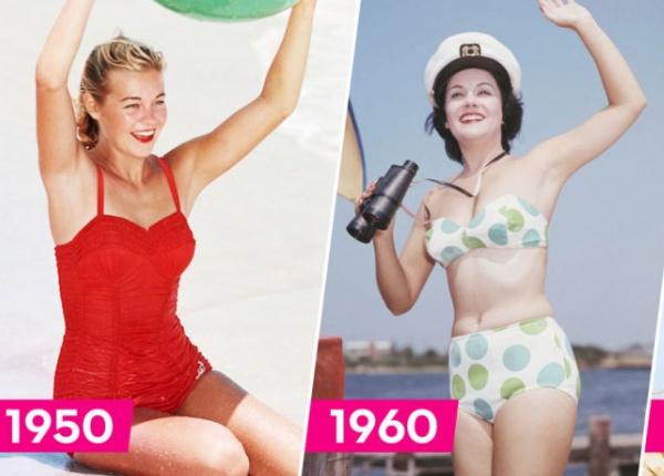 Най-добрите ретро бански костюми през годините