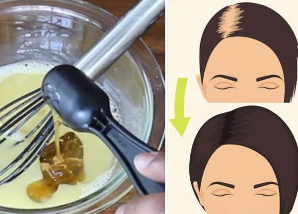 Микс от 3 съставки за силна и здрава коса