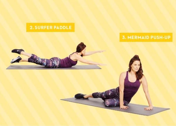 Тези 3 упражнения ще оформят фигурата ви за плажа