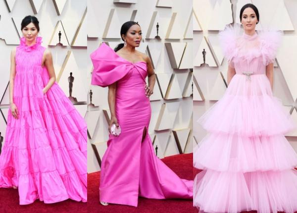 """Розовият цвят бе доминиращ на тазгодишните """"Оскари"""""""