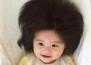 Бебе с невероятна коса стана лице на Pantene