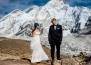 Двойка се венча на връх Еверeст