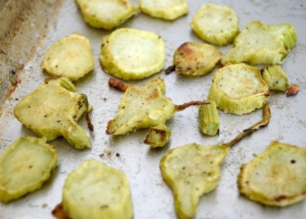 Превърнете стъблата на броколите във вкусен и полезен чипс