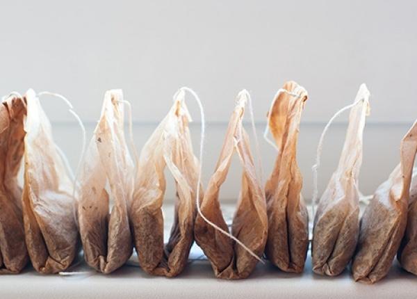 Няколко причини да не изхвърляте употребените чаени торбички