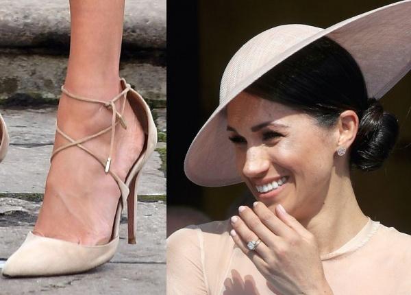 Защо Меган Маркъл винаги носи обувки, които са твърде големи за нея
