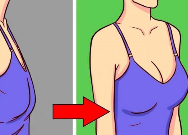 Как да предотвратим увисналите гърди