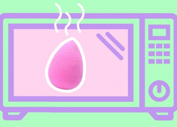 Лесен и ефективен начин за почистване на гъбите за грим