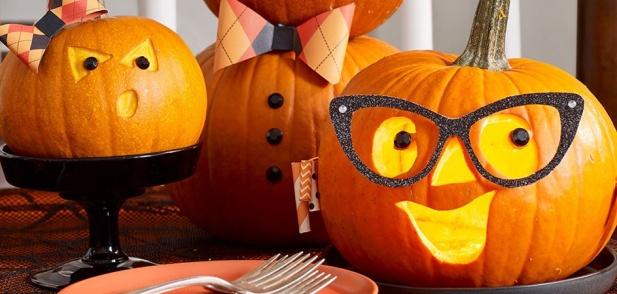 3 Гениални идеи за изрязване на тиква за Хелоуин
