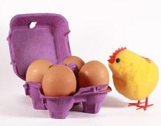 Яйца с шунка по нетрадиционна рецепта