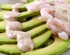Екзотична рецепта за скариди с лимон и авокадо