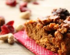 Сладкиш с мед и орехи