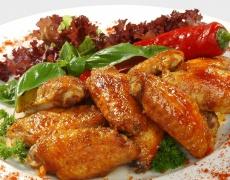 Рецепта за медени пилешки крилца