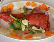 Рецепта за вкусно пълнено свинско бутче
