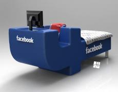 Край! Изобретиха Facebook легло